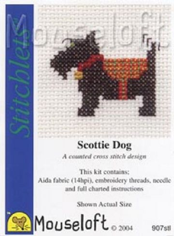 Mouseloft Stitchlets Scottie Dog